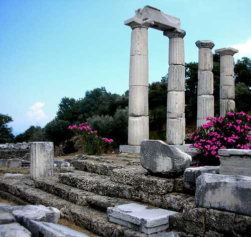 ancient city samothraki
